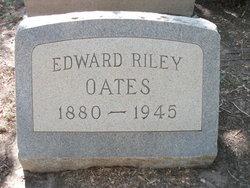 Edward Riley Oates