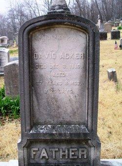David Acker