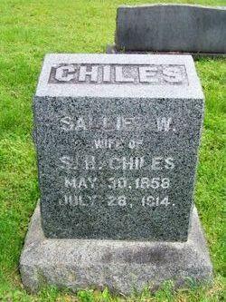 Sallie W. <i>Jacoby</i> Chiles