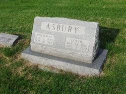Charlotte Lottie <i>Curless</i> Asbury