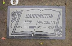 John Edward Barrington, Jr