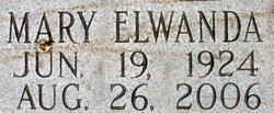 Mary Elwanda <i>Mullins</i> Baker