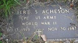 Corp Robert Sewell Bob Acheson