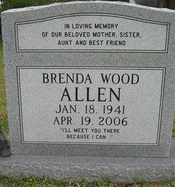 Brenda <i>Wood</i> Allen
