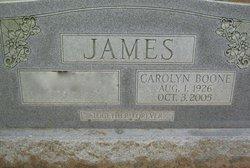 Carolyn <i>Boone</i> James