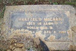 Hartzel L McCarn