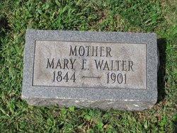 Mary E <i>Walter</i> Walter