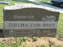 Thelma <i>Cain</i> Bruck