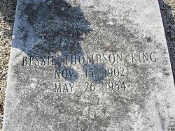 Bessie <i>Thompson</i> King