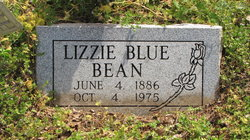 Lizzie Blue Bean