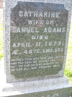 Catherine <i>Beattie</i> Adams