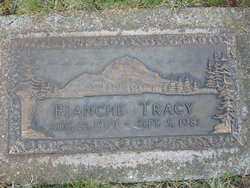 Blanche <i>Foster</i> Tracy