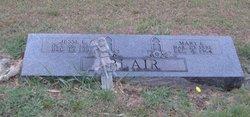 Mary Ethel <i>Starnado</i> Blair