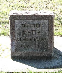 Matta Nielsdtr Martha <i>Qvam</i> Albertson
