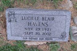 Lucille <i>Blair</i> Havens