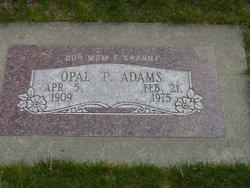 Opal P Adams