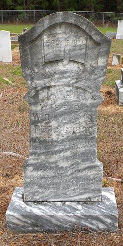 Mary R. Polly <i>Hamilton</i> Adams
