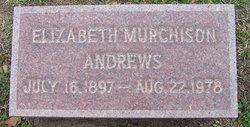 Elizabeth <i>Murchison</i> Andrews