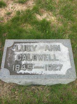 Lucy Ann <i>Woolfolk</i> Caldwell
