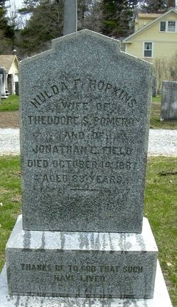 Huldah Fellowes <i>Hopkins</i> Field