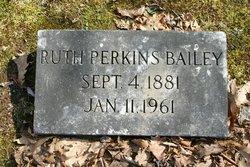 Ruth <i>Perkins</i> Bailey