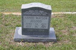 Annie <i>Watson</i> Allgood
