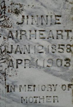 Eugenia B. Jennie <i>Collins</i> Airheart