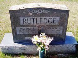 Martha Elizabeth <i>Tuttle</i> Rutledge