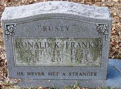 Ronald K Rusty Franks