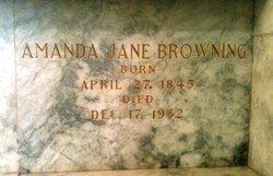 Amanda Jane <i>Botts</i> Browning