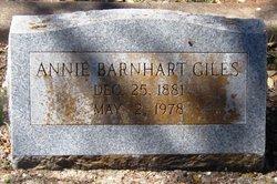 Annie Barnhart Giles
