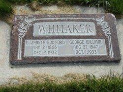 Elizabeth Bettie <i>Bodiford</i> Whitaker