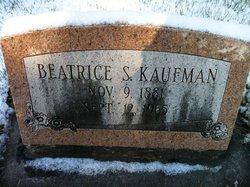 Beatrice S <i>Hook</i> Kaufman
