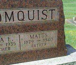 Mattson Matt Blomquist