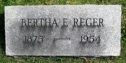 Bertha E. <i>Reger</i> Howell