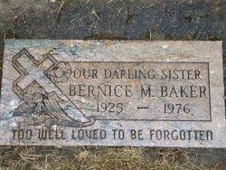 Bernice Mae Esther May <i>Rickard</i> Baker