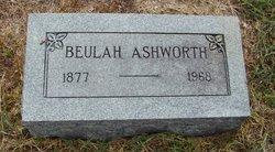 Eliza Beulah <i>Randle</i> Ashworth