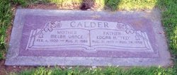 Melba <i>Vance</i> Calder