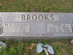 Thomas James Tom Brooks