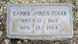 Carolyn Emma Carrie <i>Jones</i> Starr