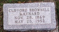 Clifford Brownell Maynard