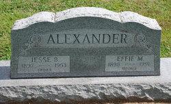 Effie M Alexander