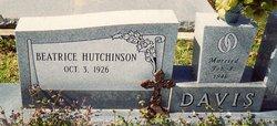 Beatrice <i>Hutchinson</i> Davis