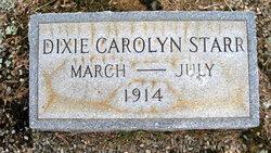Dixie Carolyn Starr