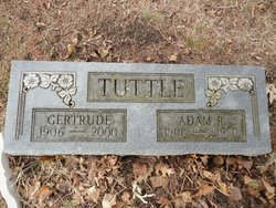 Gertrude <i>Williams</i> Tuttle