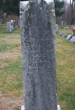 Lena <i>Miller</i> Emerick