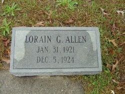 Lorain G Allen