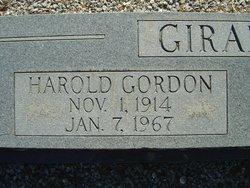 Harold Gordon Girardeau