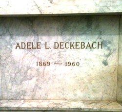 Adele L. Deckebach