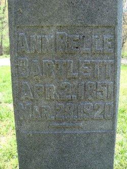 Ann Belle <i>Corder</i> Bartlett
